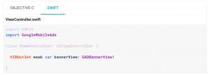 ติดตั้ง admob ให้กับ IOS โดยใช้ Firebase ทำไม error