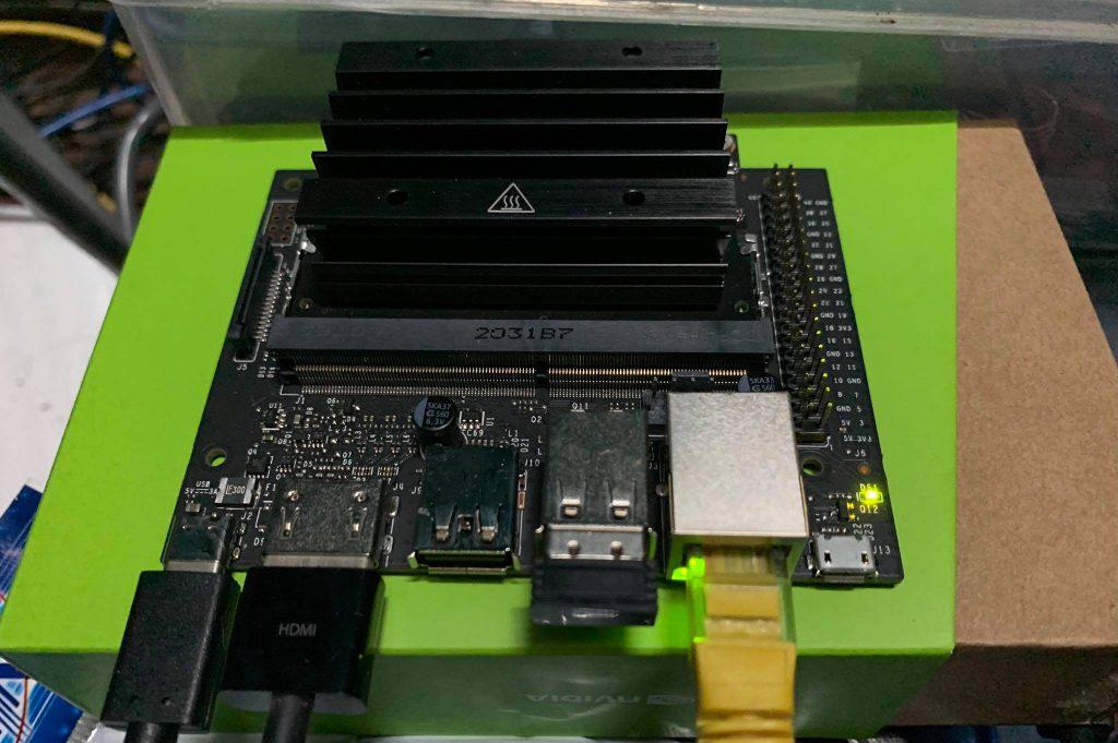 การใช้งาน Jetson Nano 2GB กับ cv2.dnn และ cuda
