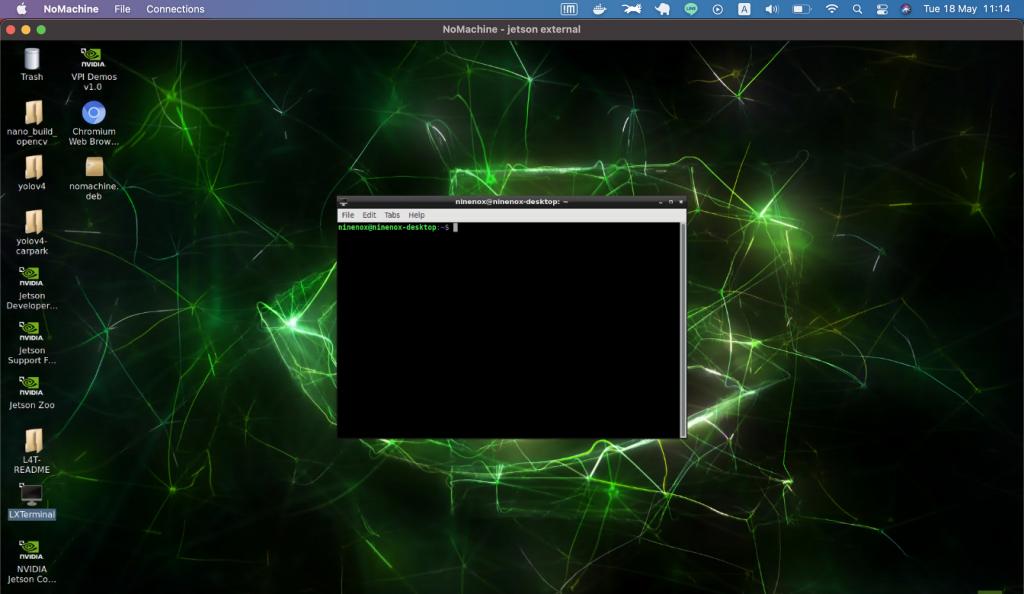 การทำ Remote จาก Mac OS ไป Jetson Nano